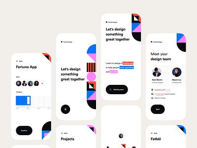On-Demand Hire teams mobile ui mobile app design invision design concept exploration app invision studio ui
