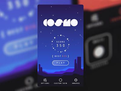Cosmo space cosmo ui stars night game ios