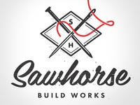 Sawhorse Build Works Logo