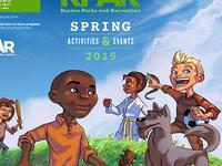 Parks And Rec Brochure Illustration