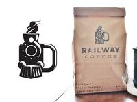 Railway Coffee Train Mug