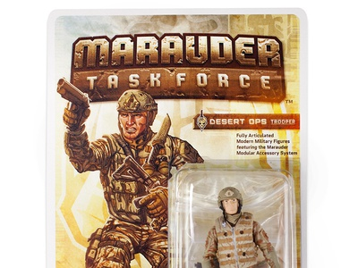 Marauder Task Force Packaging and Illustration