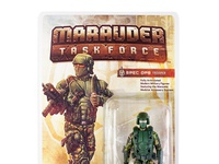Marauder Task Force Packaging and Illustration