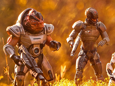 Mass Effect Toy Photography bioware mass effect toy photography toys diorama