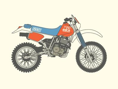 1988 Honda XR600R