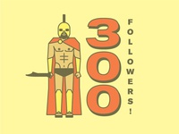 300 Followers!