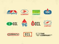 Evil Oil Corporation Logos