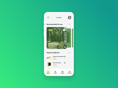 AKER Kits Mobile App app design