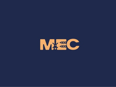 MEC Branding grain typography design food identity pantone designer icon vector wacom italy color logo adobe brand illustration illustrator andrea vaduva