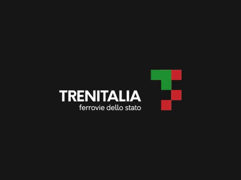 Trenitalia logo italy vaduva project rebranding concept railway identity brand trenitalia