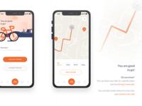 Citybike app design