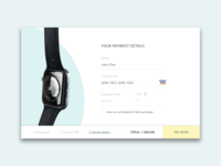UI for eCommerce website