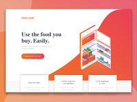 Smart cook | landing page