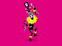 Tribal Dancer Pink