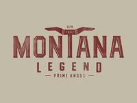 Montana Legend Logo Concept