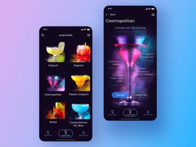 Cocktail App Concept