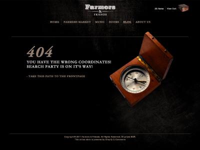 404 - Wrong Coordinates!