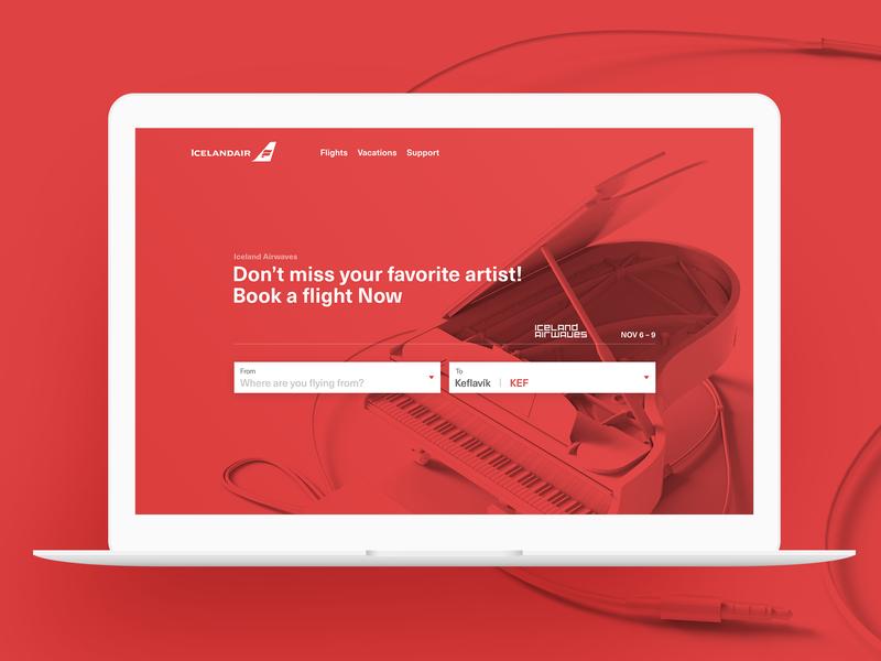 Icelandair Promotes Airwaves