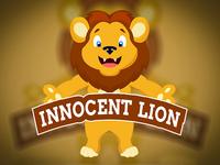 Innocrnt Lion Logo Design