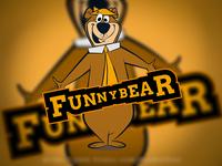 Funny Bear Logo Design