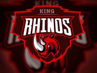 King Rhino Logo Design