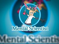 Mental Scientist Logo Design