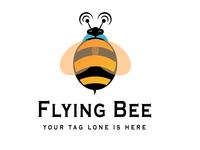 Flying Bee Logo Desing