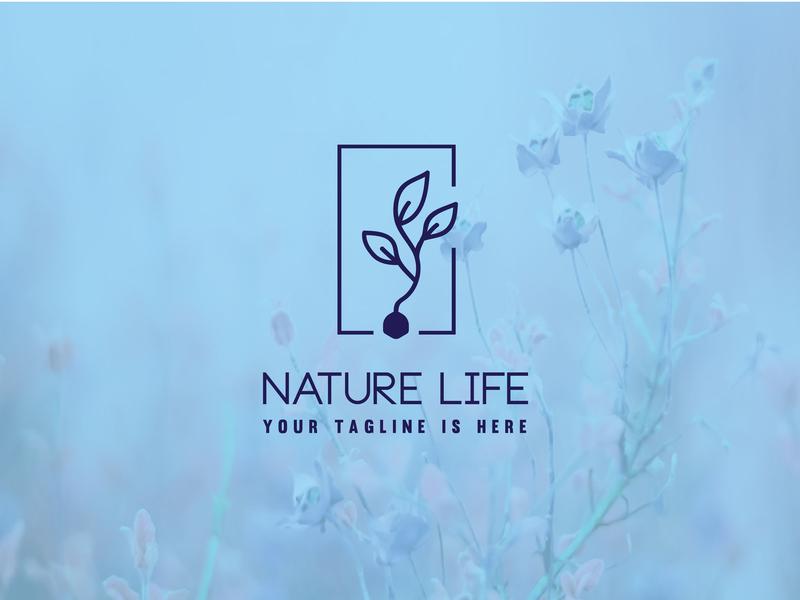Nature Life Logo Design