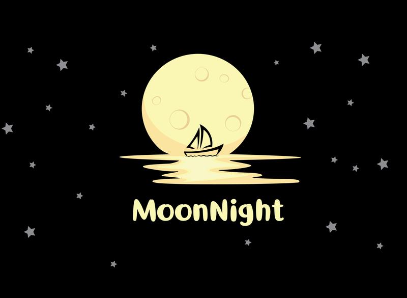 """🌙🌙 """"Moon"""" 🌙🌙 Logo Design"""