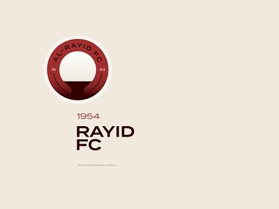 Al Rayid Football Club al rayid saudi professional league red football logo football club