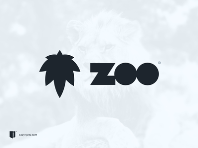 ZOO lion animal zoo logo branding saudi arabia