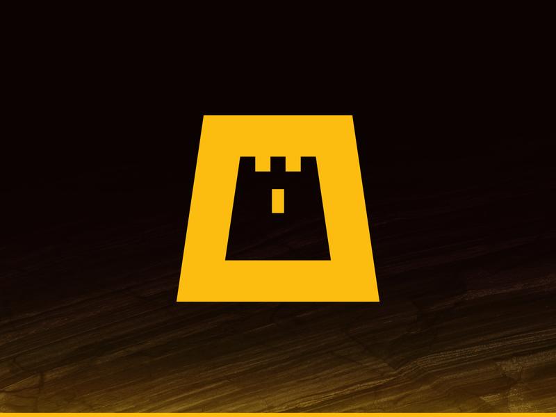 Riyadh City 2020 oud brown yellow city castle logo castle saudi arabia saudi riyadh