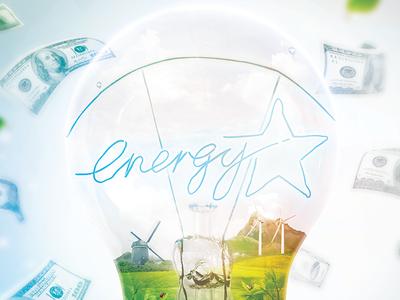 Energy Star (WIP) poster energy efficiency energy star save money