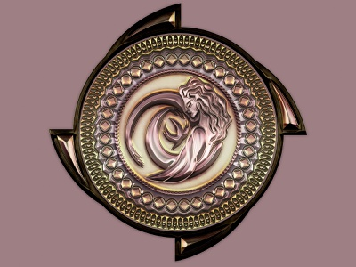 Full View emblem medallion logo