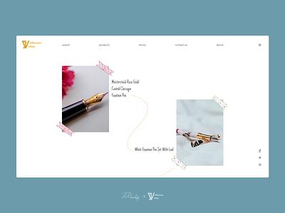 Jefferson Valley`s Main page kosar khonakdar uidesign ui design shopping website web design website xd design xd ux graphic design ui photoshop design minimal