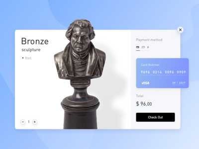 Credit Card Checkout 𐄂 Daily UI web fun sketch shop commerce inspiration design ux interface payment challenge uichallenge shopping visa modal credit card dailyui ui 100daychallenge