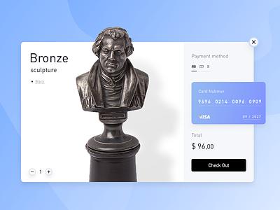 Credit Card Checkout 𐄂 Daily UI web fun sketch shop commerce inspiration design ux interface payment challenge uichallenge shopping visa modal credit card dailyui ui 100daychallenge