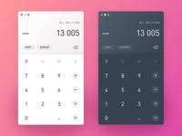 Daily UI // #004 Calculator
