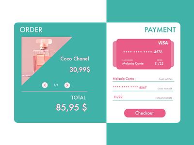 Checkout #DailyUI002 card payment checkout dailyui002 002 dailyui