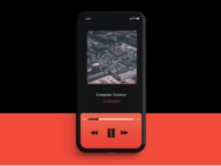 Music Player for #DailyUI #009