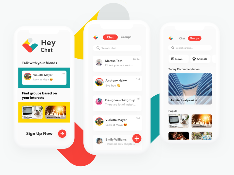 Hey Chat - Messenger App