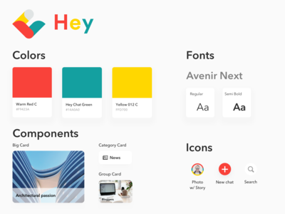 Style Guide  - Hey Chat