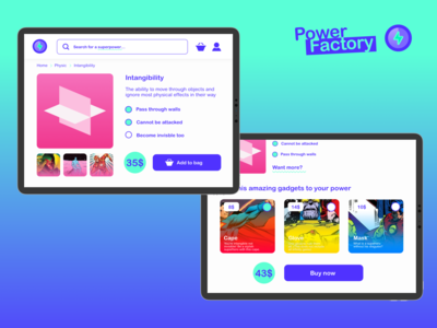 Power Factory - Superpower Online Store