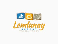 Lemlunay Resort Logo Identity ver.3