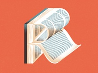 Lettera40 - R is for Reading