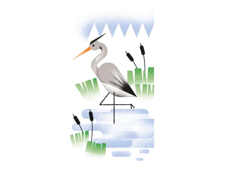 Ugenters Magazine / Bourgoyen - Ossemeersen hern swamp spot illustration editorial illustration vector texture dsgn daniele simonelli illustration