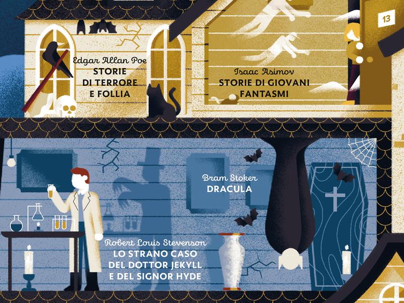 Dracula, Bram Stoker poe cat crow ghosts mistery litterature mr hide doctor jekyll doctor jekyll dracula stevenson book map texture dsgn daniele simonelli illustration