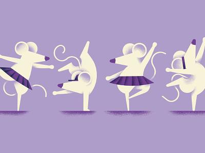Quando il gatto non c'è dancing mice dancing dance mouse mice book texture dsgn illustration daniele simonelli