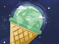 Ice-cream Earth