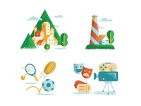 Mixed icons